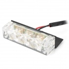 Waterproof 18W 342lm 18-LED White Flashing Light Car Decoration Lamp (12V)