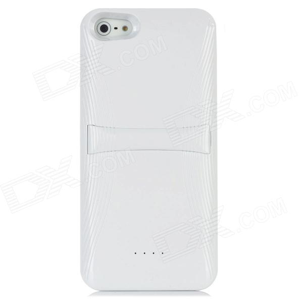 3200mAh External Backup Battery for Iphone 5 - White