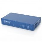CORSN CS-1008G 8-Port 100Mbps / 1000Mbps Switch - Blue