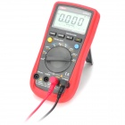 "UNI-T UT61C 2.6"" LCD Digital Multimeter - Red + Dark Grey (1 x 9V Battery)"
