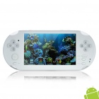"5.0"" Resistive Touch Screen Android 4.0 Game Console w/ Wi-Fi / Dual Camera / TF / HDMI - White"