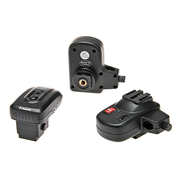 PT04S1 One Triggered Two 4-Ch Wireless Flash Trigger Set for Sony SLR - Black black one велосипед black one flash черно красный 16