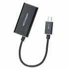 Micro 11-Pin to HDMI MHL HDTV Video Adapter for Samsung Galaxy S3 i9300 / i939 - Black