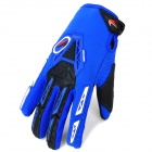 PRO-BIKER CE-03 Warm Full-Finger Motorcycle Riding Glove - Blue + Black (Size L / Pair)