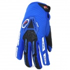 PRO-BIKER CE-03 Warm Full-Finger Motorcycle Riding Glove - Blue + Black (Size M / Pair)