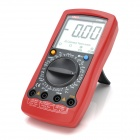 "UNI-T UT58D 3"" LCD Digital Multimeter - Red + Dark Grey (1 x 9V Battery)"