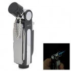 4-in-1 Multi-Functional Windproof Butane Jet Lighter w/ Scissor / Knife / Bottle Opener - Black