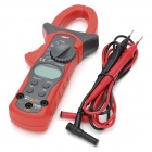 "UNI-T UT205A 1.3 ""LCD Digital Clamp multimeter - Röd + Dark Grey (1 x 9V batteri)"