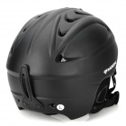 MOON MS-86 Carbon Fiber Pattern Outdoor Skiing Helmet for Adults - Black