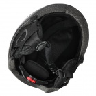 MOON MS-86 Outdoor Skiing Helmet for Adults - Black