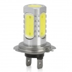 H7 10W 900lm 5-LED White Light Car Fog Lamp (10~30V)
