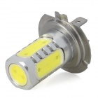 H7 10W 900lm 5-LED White Light Car luz de nevoeiro (10 ~ 30V)