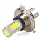 H4 10W 900lm 5-LED White Light Car luz de nevoeiro (10 ~ 30V)