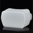 Flash Diffuser for Canon 580 EX / EX II Speedlight - White
