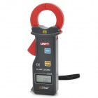 "UNI-T UT251C 1.3"" LCD Digital Clamp Leakage Ammeter - Coal Grey + Red (1 x 6F22/9V)"