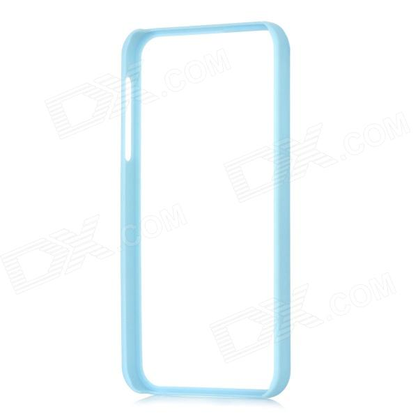 Protective Plastic Bumper Frame for Iphone 5 - Light Blue стоимость