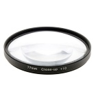 Close Up Macro (+1 / +2 / +4 / +10) Lens Filters Kit - Black (77mm)