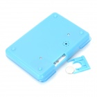 "Portable 1.0"" LCD Display Alarm PILLS Reminder Drug Time Box - Blue (1 x AG3)"
