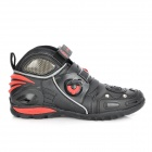 PRO-BIKER A9002 Wear-Resistant Motorcycling Racing Boosts - Black + Red (Size-43)