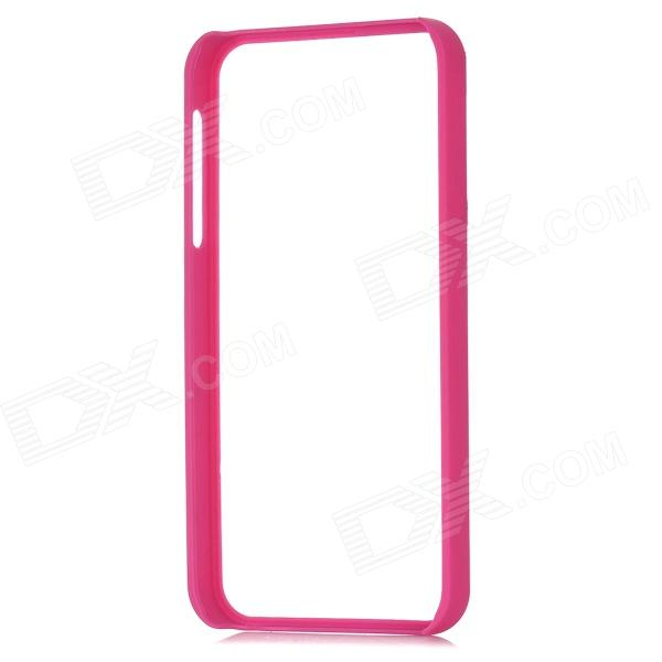 Protective Plastic Bumper Frame for Iphone 5 - Deep Pink viruses cell transformation and cancer 5