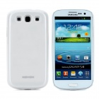 NOHON External 5100mAh Power Battery Back Case + 2100mAh Battery for Samsung Galaxy S3 i939 - White