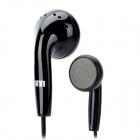 Stylish Stereo Earphone for MP3 / MP4 / Cell Phone / PSP / Tablet PC - Black (3.5mm Plug)