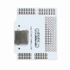 Freaduino SD / SDHC / Micro SD / TF Card Shield Expansion Board - White + Silver