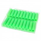 French Pipe Flavor High Nicotine Electronic Cigarette Cartridge Refills - Green (2 x 10 PCS)