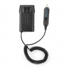 Wouxun UVD1P Car Charger Battery Eliminator Adapter for Walkie Talkie - Black