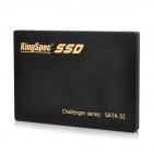 "KINGSPEC C3000-120G Portable 2.5"" SATA III External Mobile HDD Hard Disk Drive - Black (120GB)"