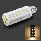 E26 9.6W 624lm 3500K 48 x 5050 SMD LED Warm White Light Bulb - White (85~265V)