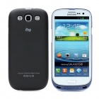 Devino 2600mAh Backup Power Battery Back Case for Samsung i9300 Galaxy S3 - Black + Royalblue