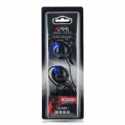Koniycoi KE-36MV Stereo Ear Hook Style Headphones w/ Mic + Volume Control - Black (210cm-Cable)