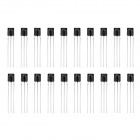 Universal IR Infrared Receiver Module - Black (20 PCS)