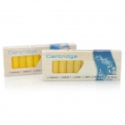 Electronic Cigarette Refills Cartridges - Yellow (Hilton Flavor / 2 x 10 PCS)