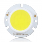 DIY 3W 6000K 315lm White Light Round COB LED Module (9~11V)