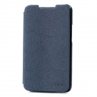ROCK Big City PU Leather Flip Open Case Cover for Lenovo S880 - Ink Blue