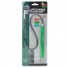 Pro'sKit FL-603 Flexible LED White Light Flashlight - Green + Black