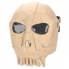 Chief SW2106 Skull Style Full-face Mask for War Game / CS - Earthy