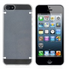 Newtons Edge Glow in the Dark Design Protective PC Back Case for Iphone 5 - White + Transparent