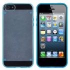 Newtons Edge Glow in the Dark Design Protective PC Back Case for Iphone 5 - Blue + Transparent