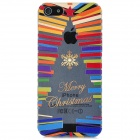 Newtons 3D Abstract Christmas Tree Design Protective PC Back Cover Case for Iphone 5 - Multicolor