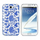 Newtons 3D Blue and White Porcelain Design Protective PC Back Case for Samsung i7100