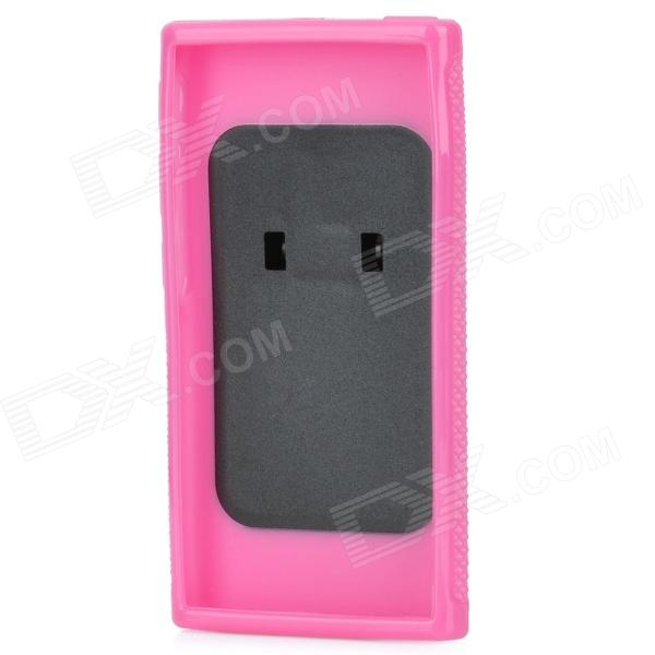 Protective TPU + ABS Plastic Case for Ipod Nano 7 - Deep Pink