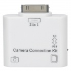 2-in-1 Camera Connection Kit USB & SD Card Reader für iPad / iPad 2 / iPad 3 - White