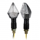 Waterproof 12W 40lm 8-LED White Light Motorcycle Decoration Lamp (2 PCS / 12V)