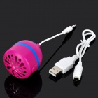 Mini Stereo Speaker for Iphone 5 - Fuchsia