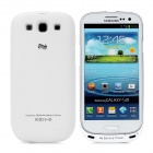 Devino 2600mAh Backup Power Battery Back Case for Samsung i9300 Galaxy S3 - White