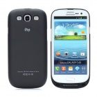 Devino 2600mAh Backup Power Battery Back Case for Samsung i9300 Galaxy S3 - Black