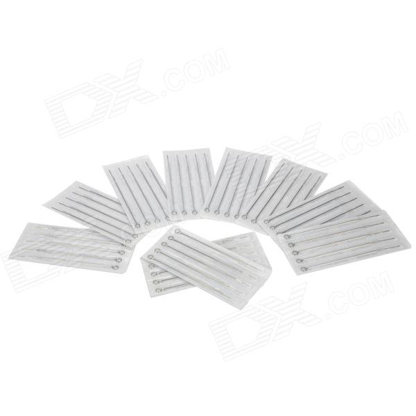 цена на 7M2 Round Liner Tattoo Needles - Silver (50 PCS)